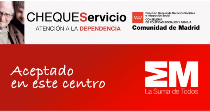 Cheque servicio de la Comunidad de Madrid